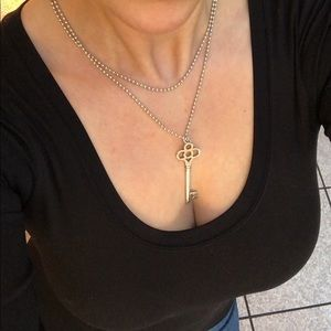 38 off tiffany co jewelry tiffany crown key pendant with chain jewelry tiffany crown key pendant with chain aloadofball Images